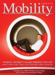 """""""MOBIEL WERKEN MAAKT PRODUCTIEVER"""" - Vodafone"""