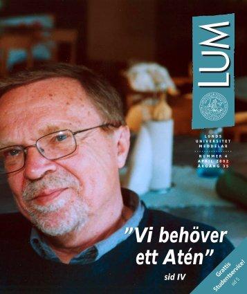LUM nr 4 - 19 april (PDF 1,2 MB - Nytt fönster) - Humanekologi ...