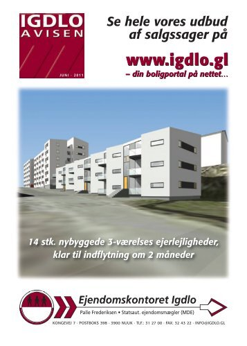 Igdlo Avisen Juni 2011 1209 KB Hent - Ejendomskontoret Igdlo