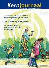 Kernjournaal voorjaar 2013 - Pré Wonen