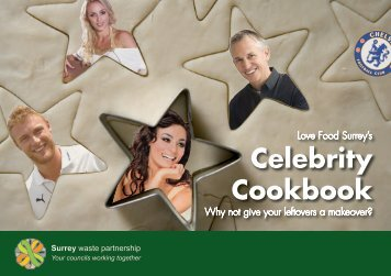 Celebrity Cookbook - Love Food Surrey