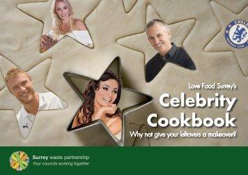 Celebrity Cookbook - Love Food Surrey