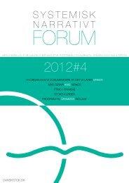 2012#4 - STOK – Dansk forening for systemisk terapi og konsultation