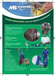 Hygien management - Schippers