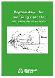 Miljökunskap för räddningstjänsten (SRV) [pdf 1,7 MB]