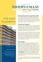 November 2009 - WOONopMAAT