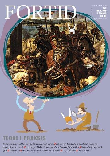 TEORI I PRAKSIS - Fortid