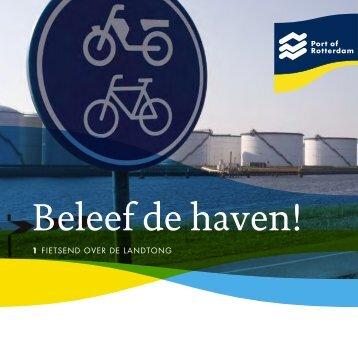Brochure fietsroute 1 - Port of Rotterdam