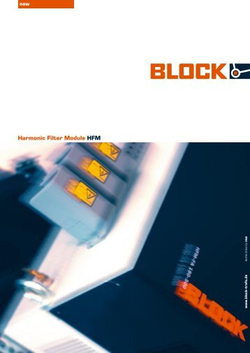 Harmonic Filter Module HFM - BLOCK Transformatoren-Elektronik ...