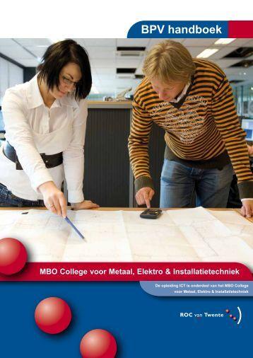 BPV handboek - ICT Stage ROC van Twente
