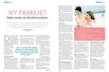 Ny familie? - Børnepsykolog og familiepsykolog Bente M. Edslev