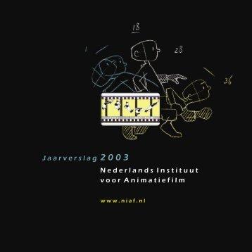 Jaarverslag 2003 - uri=niaf