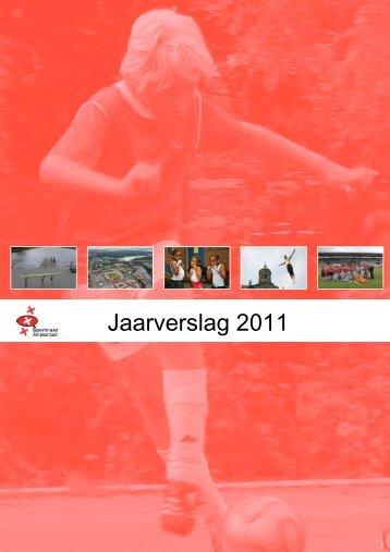 Jaarverslag 2011 - Sportraad Amsterdam