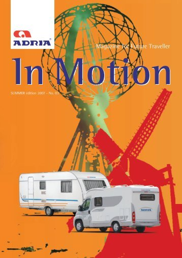 Magazine for Future Traveller - Adria Mobil