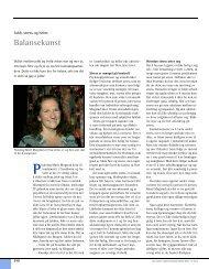 Balansekunst - Den norske tannlegeforenings Tidende