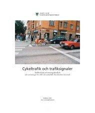 Cykeltrafik och trafiksignaler - Movea Trafikkonsult AB