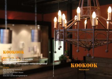 KOOKOOK - BSN Werkervaringsbedrijf