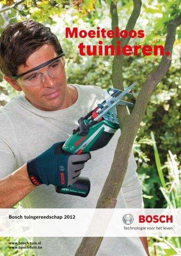 Productcatalogus downloaden - Bosch elektrisch gereedschap