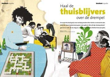 Haal de thuisblijvers over de drempel Artikel Bierblad ... - FNV Horeca