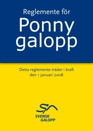 Ponny galopp - Ung Galopp