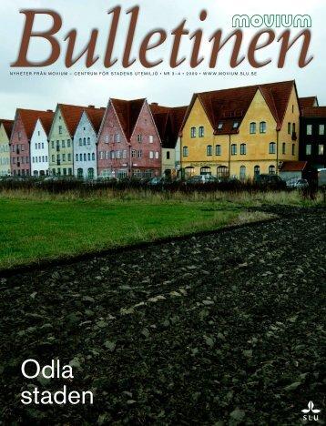 Odla staden - Gehl Architects