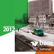 Jaarverslag 2012 - Betonac NV