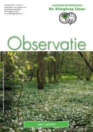 Observatie no. 2: maart/april (Klik hier voor pdf-bestand)