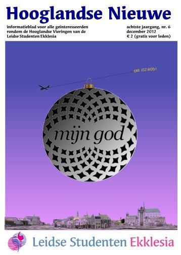 Hooglandse Nieuwe december 2012 - Welkom bij de LSE