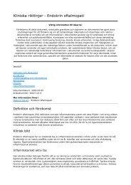 Kliniska riktlinjer_ Endokrin oftalmopati - Sveriges ögonläkarförening
