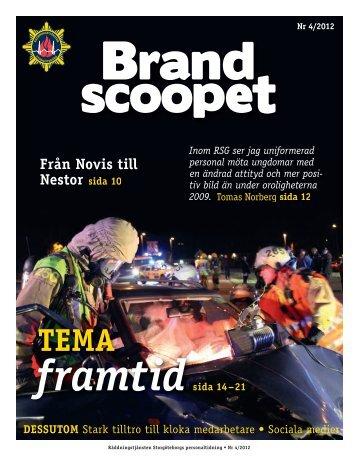 Brandscoopet 4-2012.pdf - Räddningstjänsten Storgöteborg