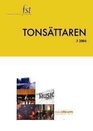 Tonsättaren Nr 3 2004 - FST