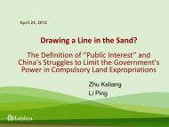 Drawing a Line in the Sand?