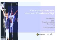 Van school naar huis door een Vreedzame Wijk - vrijwillige inzet ...
