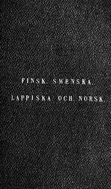 Finsk sprla i sammandrag