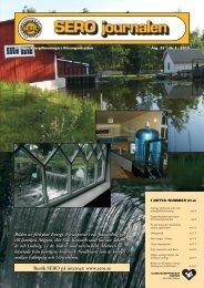 SERO nummer 4 2010 - Sveriges Energiföreningars Riksorganisation