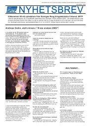 Läs nyhetsbrevet (pdf) - SRTF