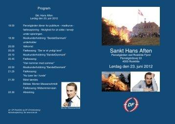 Sankt Hans Aften - Dansk Folkeparti