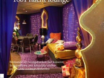 1001 nacht lounge - Themadecoraties