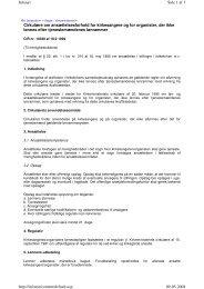 Cirkulære om ansættelsesforhold for kirkesangere og for organister ...