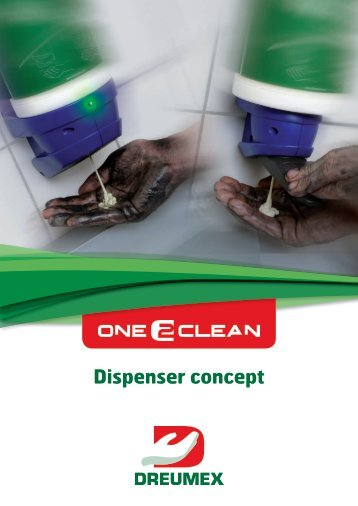 Dispenser concept - One2clean