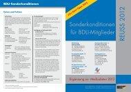 BDLI-Sonderkonditionen - Reuss