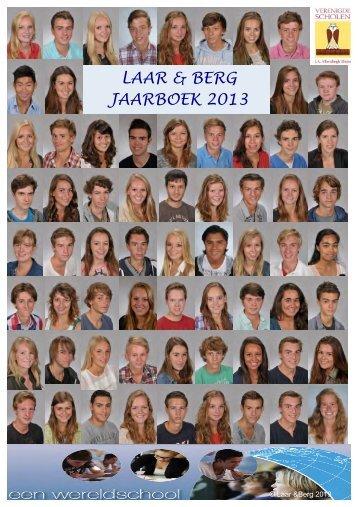 Jaarboek Laar en Berg 2012-2013 - Verenigde Scholen JA ...