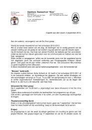 Nieuwsbrief Nr 1 van september 2012 - De Da Vinci-afdeling van ...