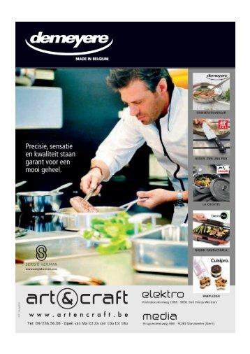 Demeyere folder 2012 Artencraft-1 - Art & Craft