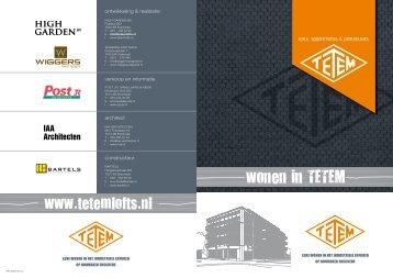 Klik hier op de Tetem 1 brochure downloaden