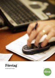 Företag - Dina Försäkringar