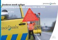 Brochure Herinrichting Donderen - Provincie Drenthe