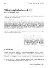 Taking Social Rights Seriously (II): - Retfaerd.org