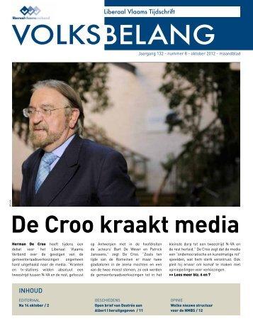 OKtOBEr 2012 - Het Volksbelang