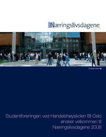 Studentforeningen ved Handelshøyskolen BI Oslo ... - Madel Design